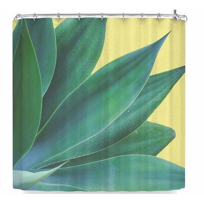 Ann Barnes Agave Sunny Pop Shower Curtain