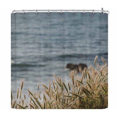 Ann Barnes California Coast Shower Curtain