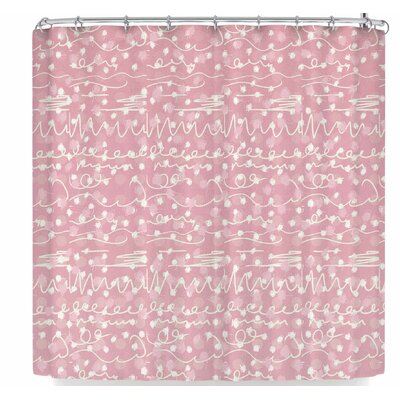 Elena Ivan - Papadopoulou Crazy Pat Shower Curtain