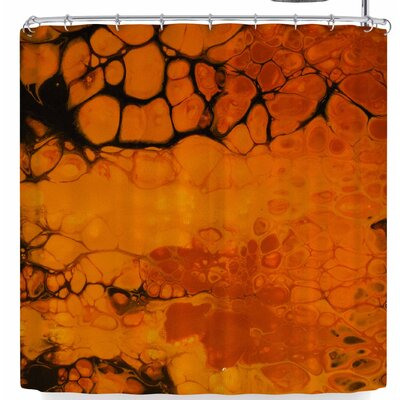 Carol Schiff Golden Glow Shower Curtain