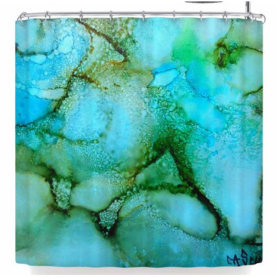 Carol Schiff Sea Garden Shower Curtain