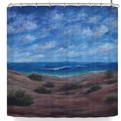 Cyndi Steen Donnas Beach Shower Curtain