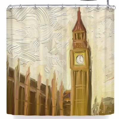 Cyndi Steen British Parliament Shower Curtain