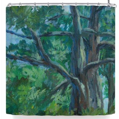 Cyndi Steen Florida Pine Shower Curtain