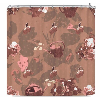 Elena Ivan - Papadopoulou Mum�s Sweet Heart Series- 4 Shower Curtain