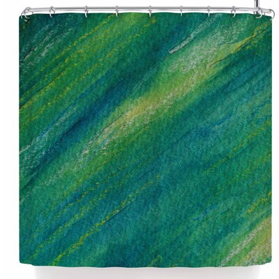 Cyndi Steen Phthalo Abstract Shower Curtain