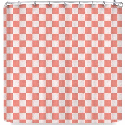 Elena Ivan - Papadopoulou Chess On Fall Shower Curtain