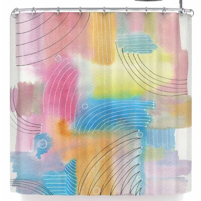 Viviana Gonzalez Improvisation 60 Shower Curtain