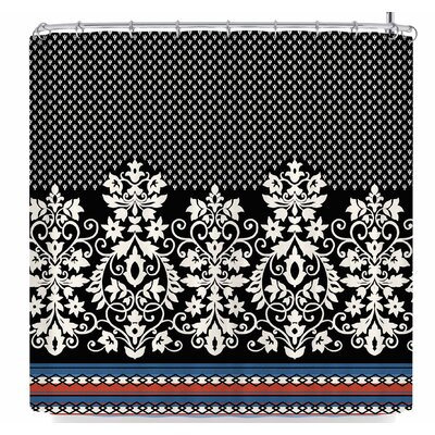 Victoria Krupp Boho Border Shower Curtain