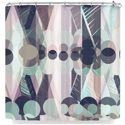 Victoria Krupp Chunky Geo Shower Curtain