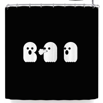 Eikwox Boo Shower Curtain