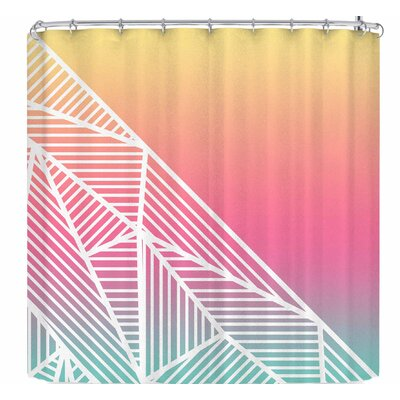 Fimbis Beeniks Rays Shower Curtain