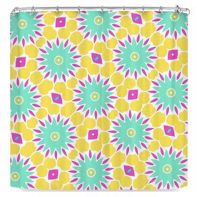 Alison Coxon Summer Bright Floral Shower Curtain