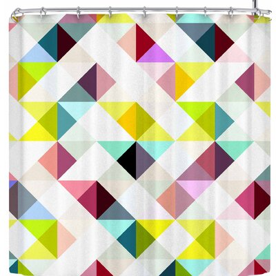 Fimbis Maze Shower Curtain