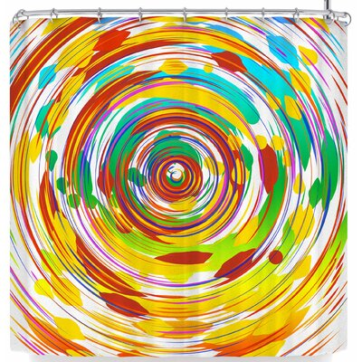 Frederic Levy-Hadida Swoosh 2 Shower Curtain