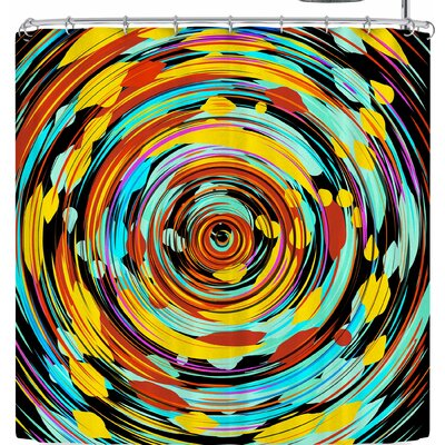 Frederic Levy-Hadida Swoosh!!!! Shower Curtain