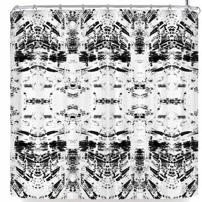 Danii Pollehn Monochrom Shower Curtain