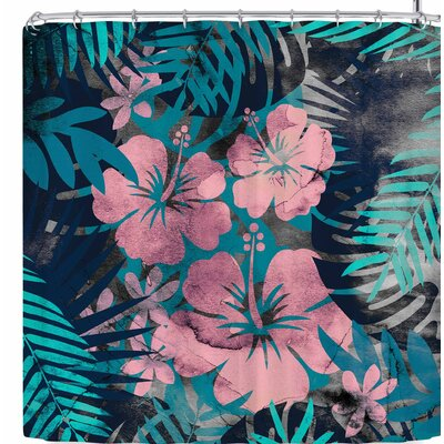 Cafelab Tropical Style Shower Curtain
