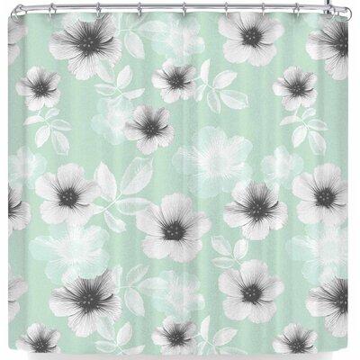 Cafelab Pale Garden Shower Curtain