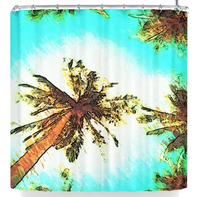 Oriana Cordero Paradise Shower Curtain