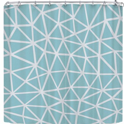 Project M Segment and Shower Curtain Color: Light Blue