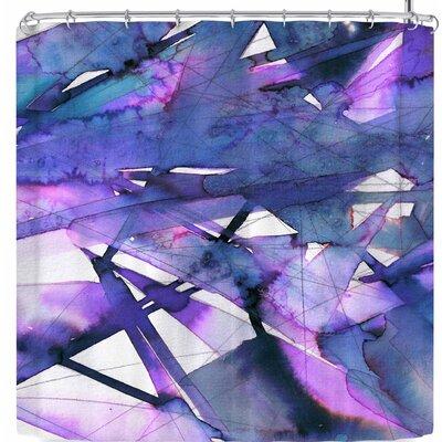 Ebi Emporium Guiding Lights 6 Shower Curtain Color: Purple