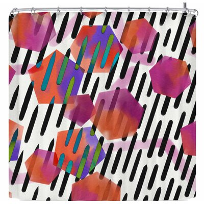 Victoria Krupp Geo Shapes Shower Curtain