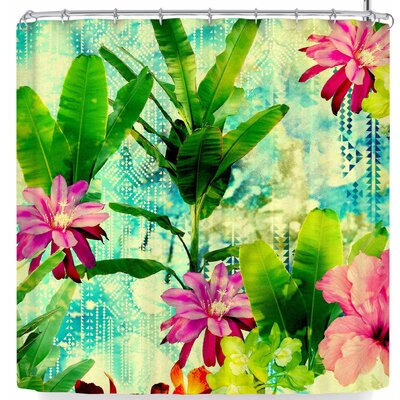 Victoria Krupp Tropical Lagoon Shower Curtain