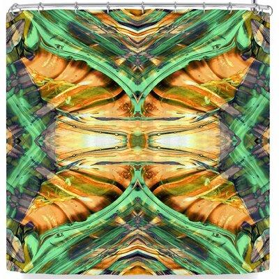 Pia Schneider Golden Oz Part-2 Shower Curtain