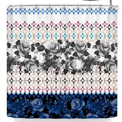 Victoria Krupp Roses In Shadow Shower Curtain