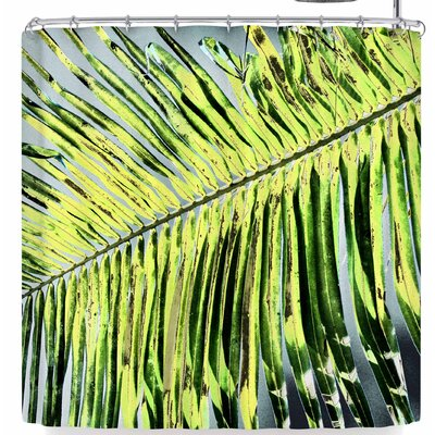 Cyndi Steen Funky Frond Shower Curtain