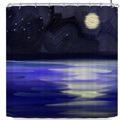 Cyndi Steen Starry Night Shower Curtain