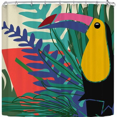 Bruxamagica Toucan Beije Shower Curtain