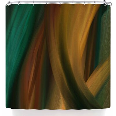 Cyndi Steen Major Glowage Shower Curtain