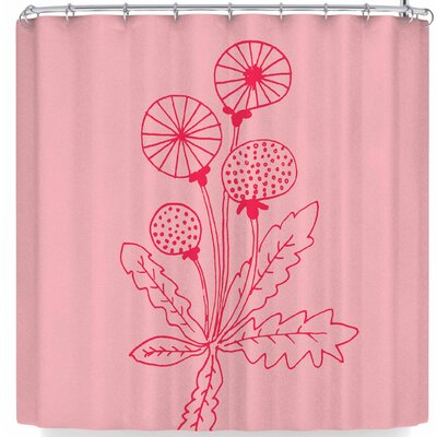 Bruxamagica Dandelion Shower Curtain