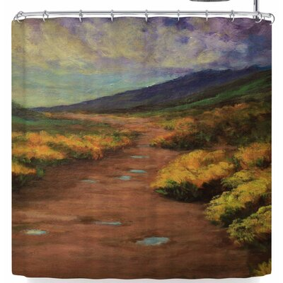 Cyndi Steen Passing Storm Shower Curtain