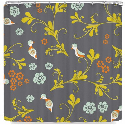 Louise Machado Birds Shower Curtain