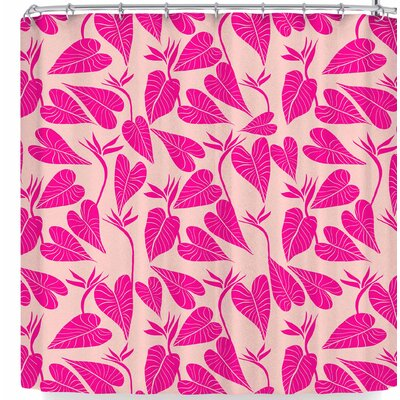 Cafelab Tropical Leaves Shower Curtain