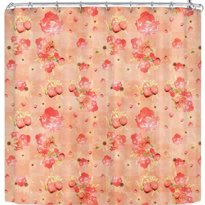 Elena Ivan - Papadopoulou Summers Slowly Fading Shower Curtain Color: Beige Brown