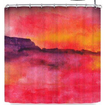 Li Zamperini Scape Shower Curtain