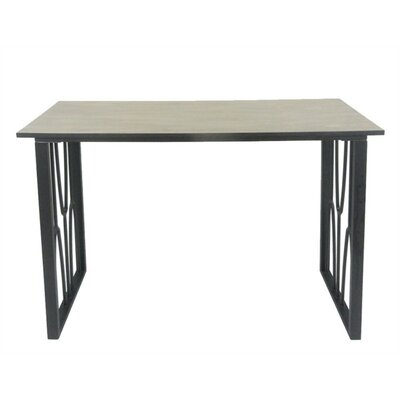 Diam Exceptional Metal & Wood End Table