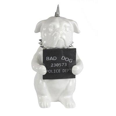 Dinuba Enormous Ceramic Pug Figurine with Blackboard 4F8A145A3CCE4FFEAE5A8F0753512146