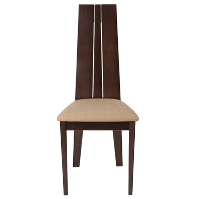 Mcavoy Upholstered Dining Chair Upholstery Color: Magnolia Brown, Frame Color: Espresso
