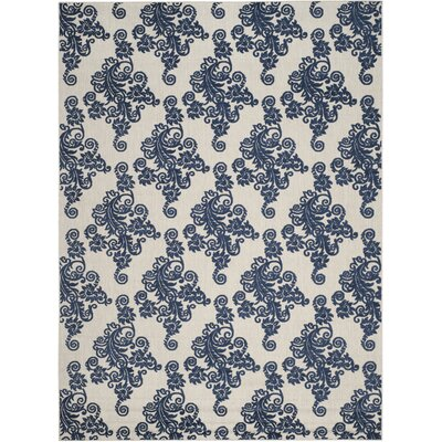 Brandonville Ikat Indoor/Outdoor Area Rug Rug Size: Rectangle 8 x 112