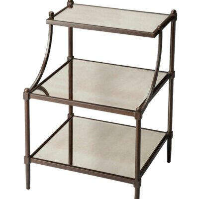 Sasheer End Table Color: Light Bronze