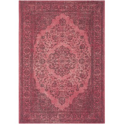 Kymmi Fuchsia Area Rug Rug Size: Rectangle 8 x 11