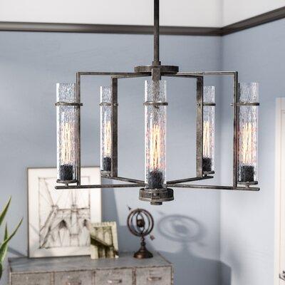 Wetumka 5-Light Candle-Style Chandelier