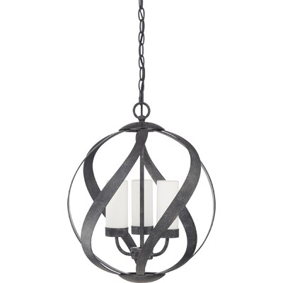 Victorino 3-Light Globe Pendant