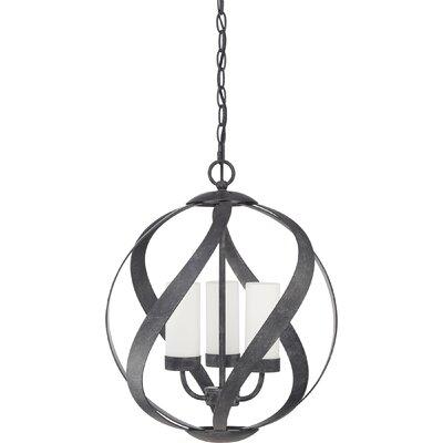 Victorino 3-Light Globe Pendant