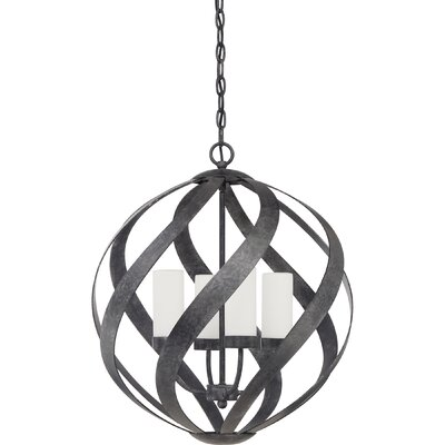 Victorino 4-Light Globe Pendant